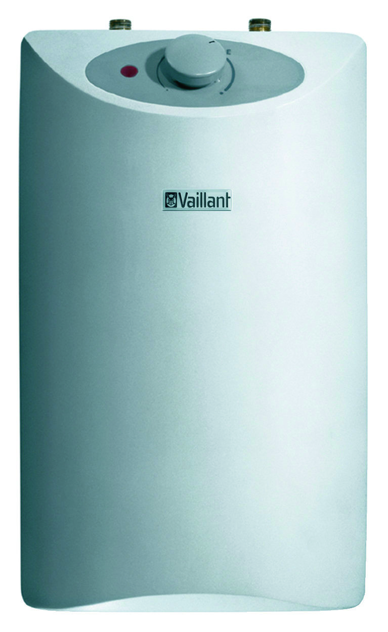 vaillant boiler warmwasserspeicher untertisch 5 liter mit armatur ebay. Black Bedroom Furniture Sets. Home Design Ideas