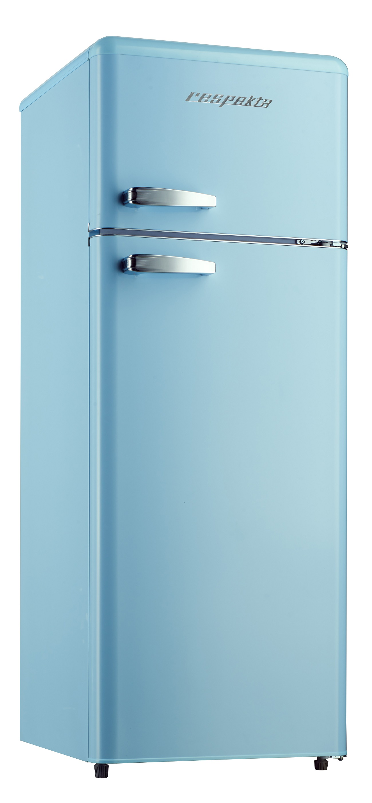 respekta retro refrigerator kombi cooling frozen combination kg 146 light blue. Black Bedroom Furniture Sets. Home Design Ideas