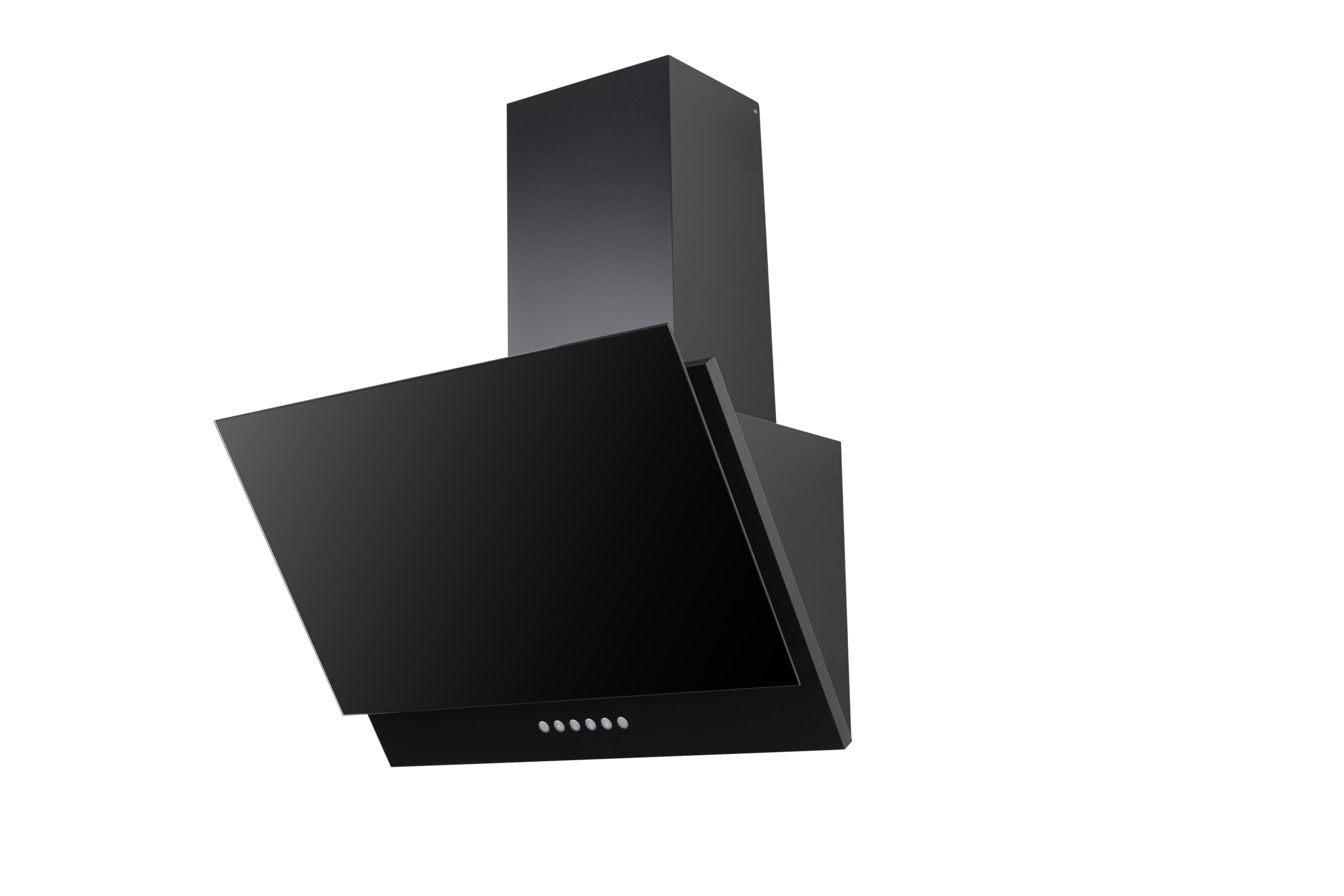 respekta schr ghaube dunstabzugshaube kopffrei glas 60 cm schwarz led eekl a ebay. Black Bedroom Furniture Sets. Home Design Ideas