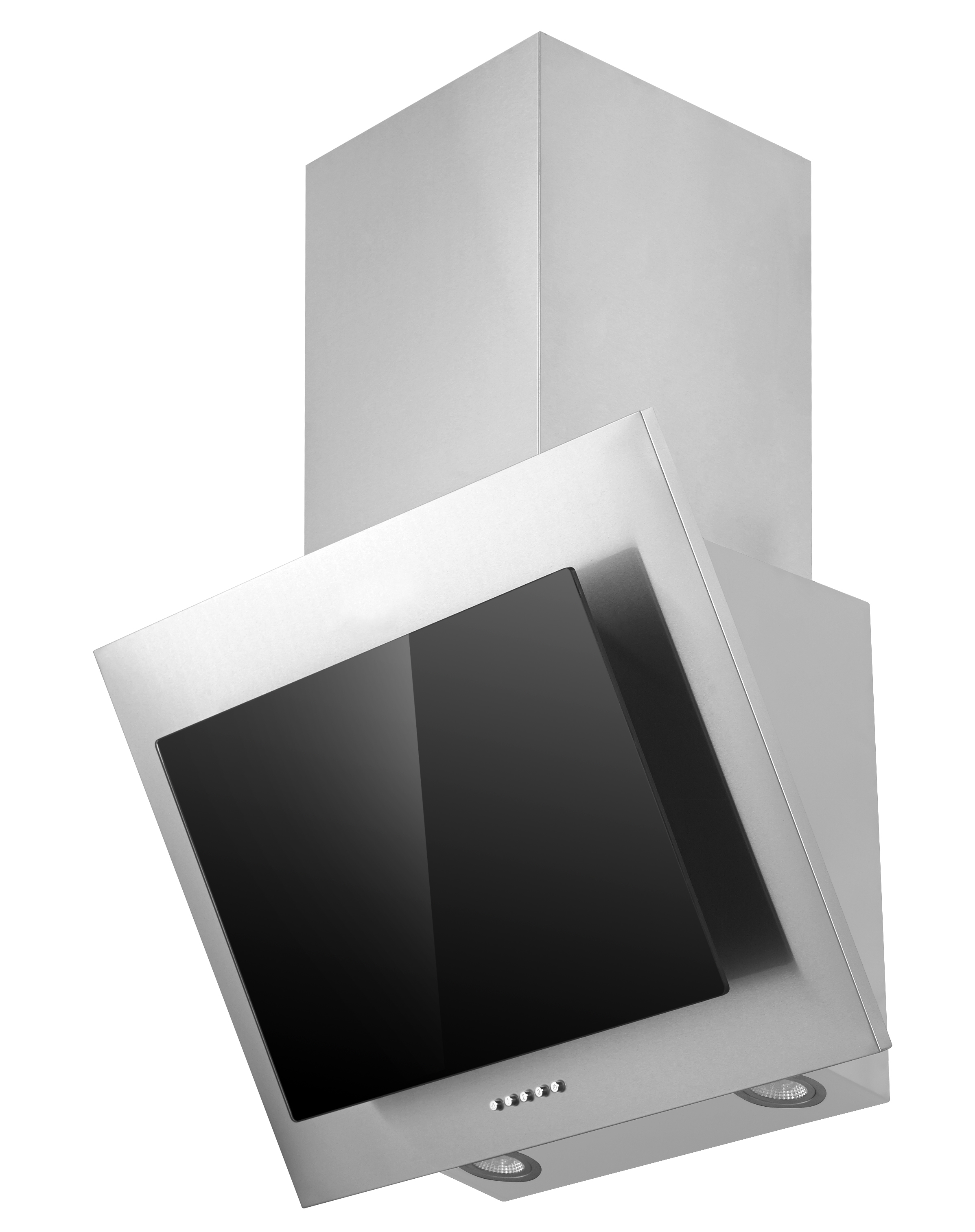 respekta dunstabzugshaube schr ghaube kopffrei edelstahl glas schwarz 60 cm led 4260458241240 ebay. Black Bedroom Furniture Sets. Home Design Ideas