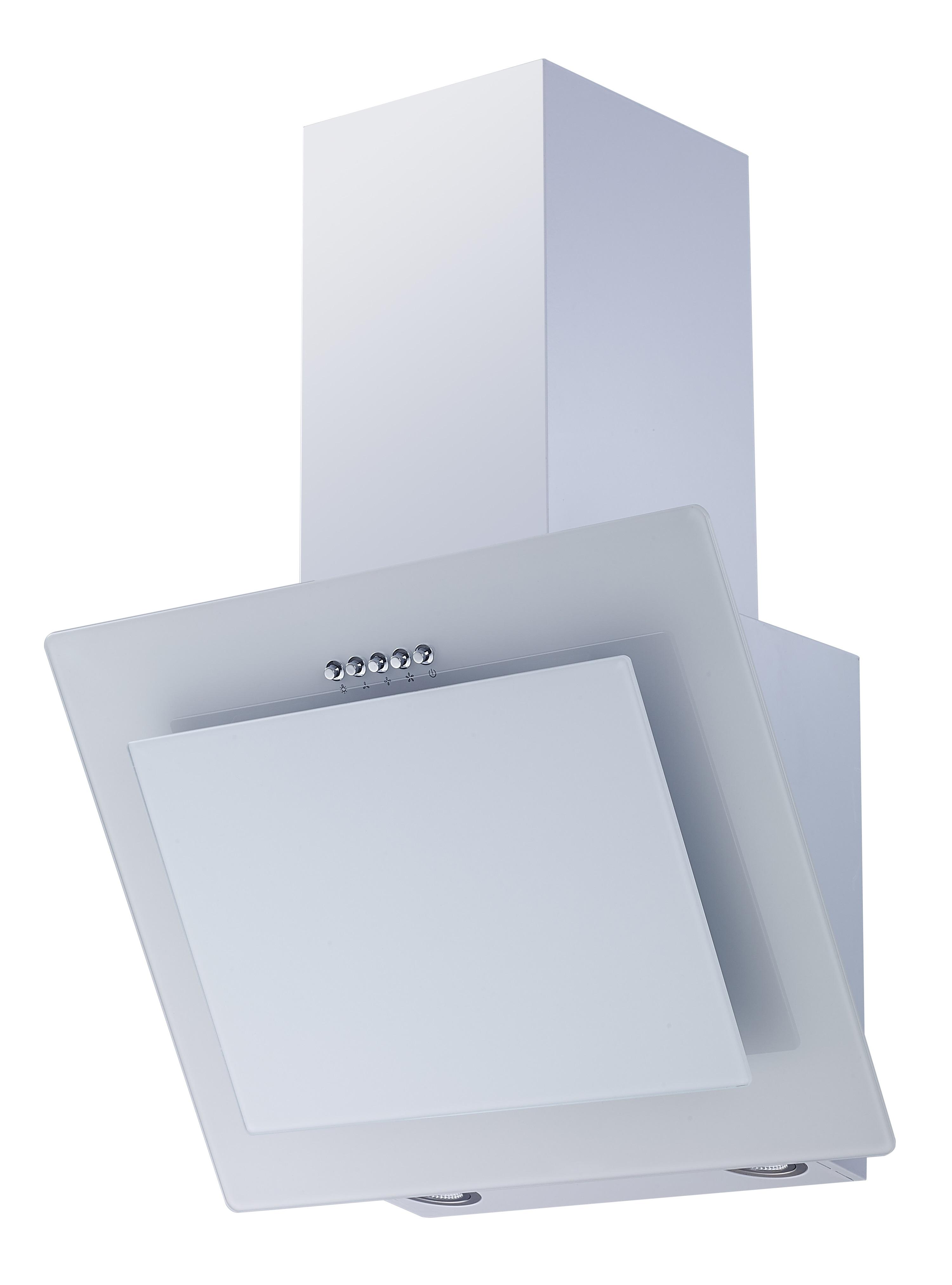 dunstabzugshaube schr ghaube wandhaube kopffrei glas 60 cm wei led respekta ebay. Black Bedroom Furniture Sets. Home Design Ideas