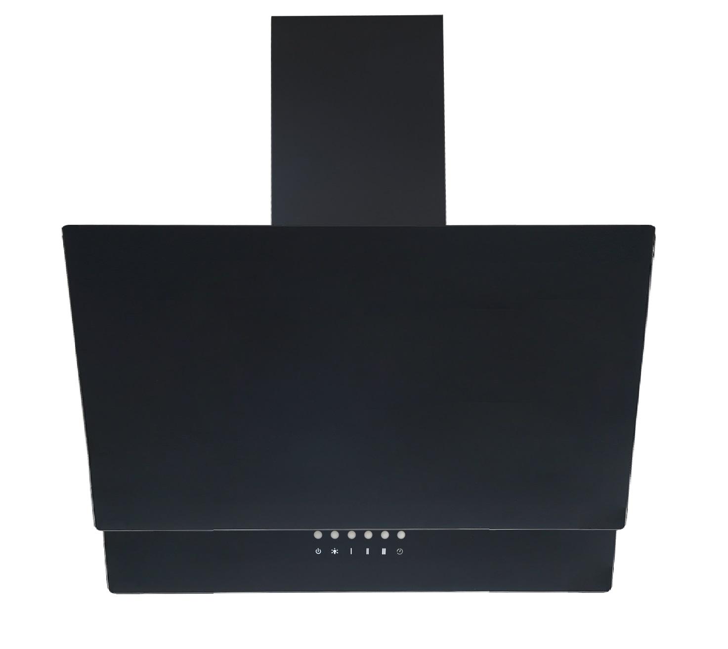 dunstabzugshaube schr ghaube wandhaube kopffrei glas 90 cm schwarz led respekta ebay. Black Bedroom Furniture Sets. Home Design Ideas