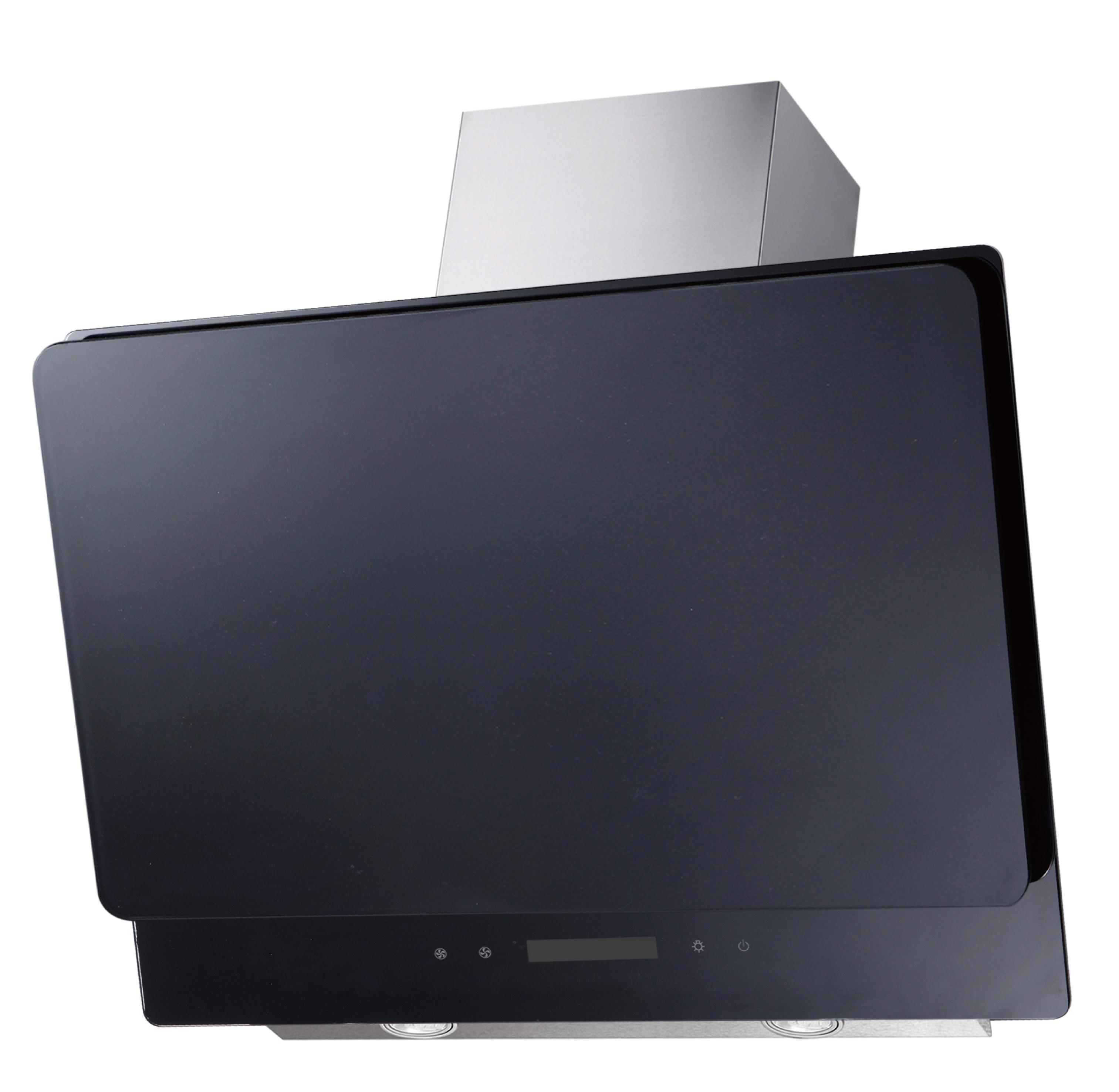 dunstabzugshaube schr ghaube wandhaube kopffrei glas 60 cm schwarz led respekta ebay. Black Bedroom Furniture Sets. Home Design Ideas