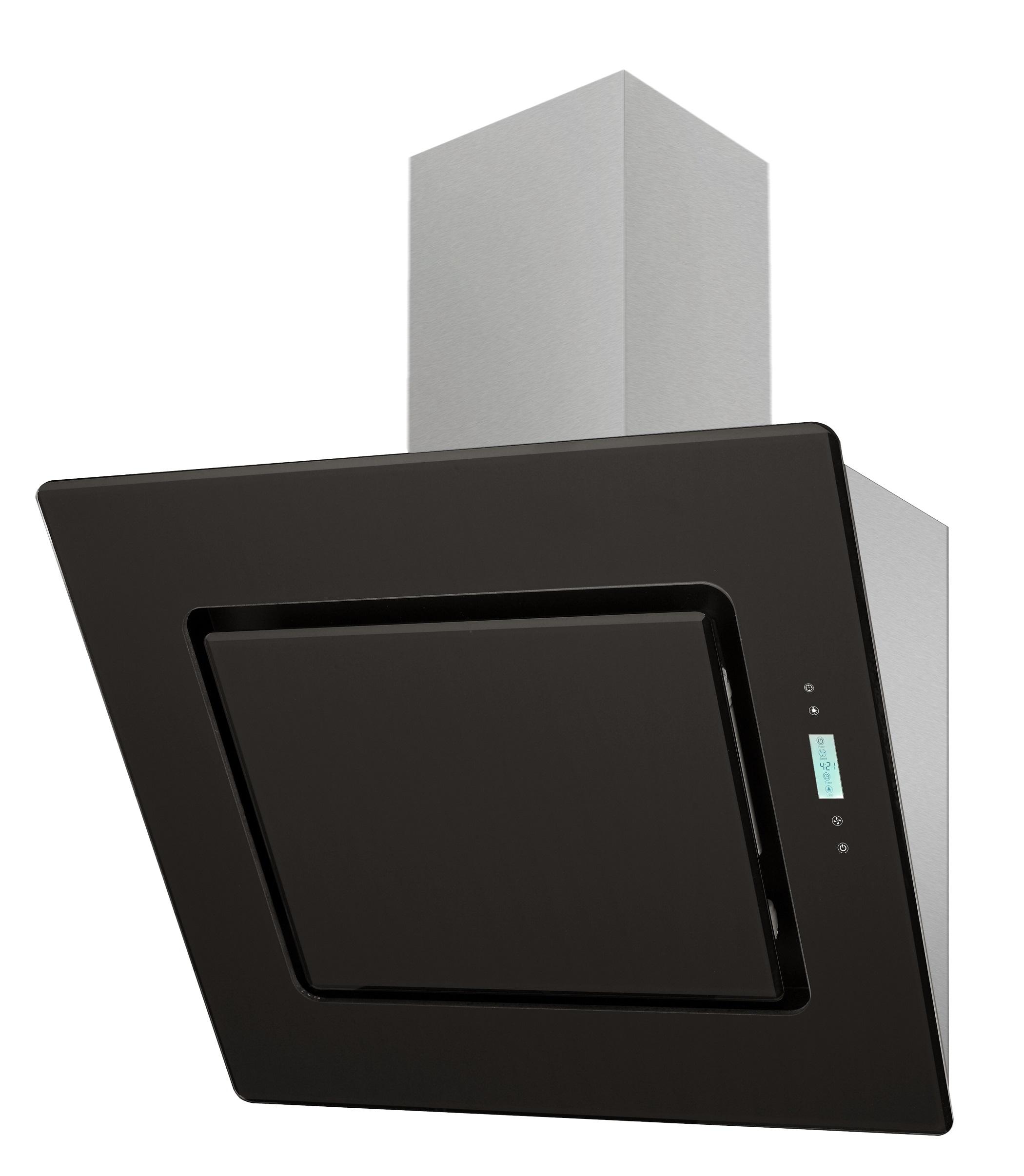 dunstabzugshaube schr ghaube wandhaube kopffrei 60 cm schwarz respekta eekl a ebay. Black Bedroom Furniture Sets. Home Design Ideas