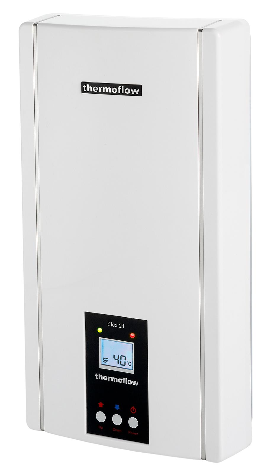 durchlauferhitzer elektronisch 21 kw elex 21 boiler durchlauferhitzer thermoflow ebay. Black Bedroom Furniture Sets. Home Design Ideas