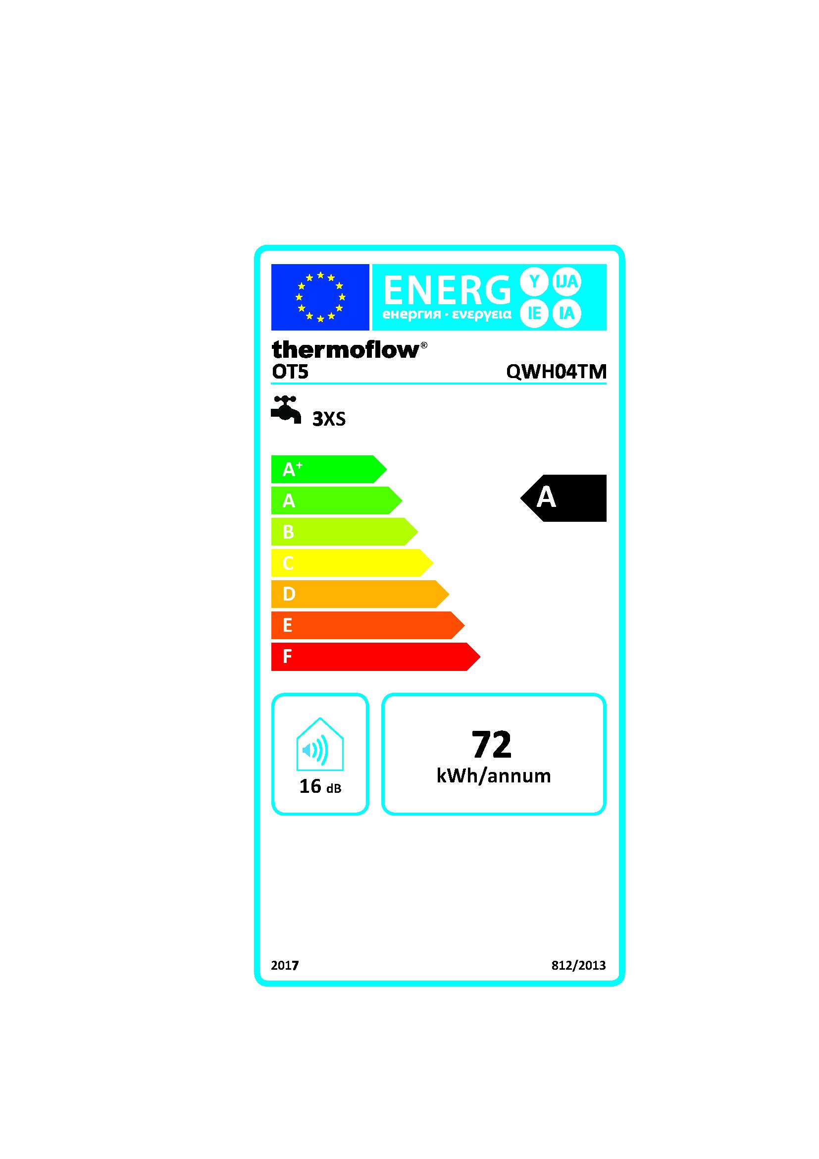 respekta thermoflow 5 Liter Untertisch Boiler Warmwasserspeicher mit Armatur RL