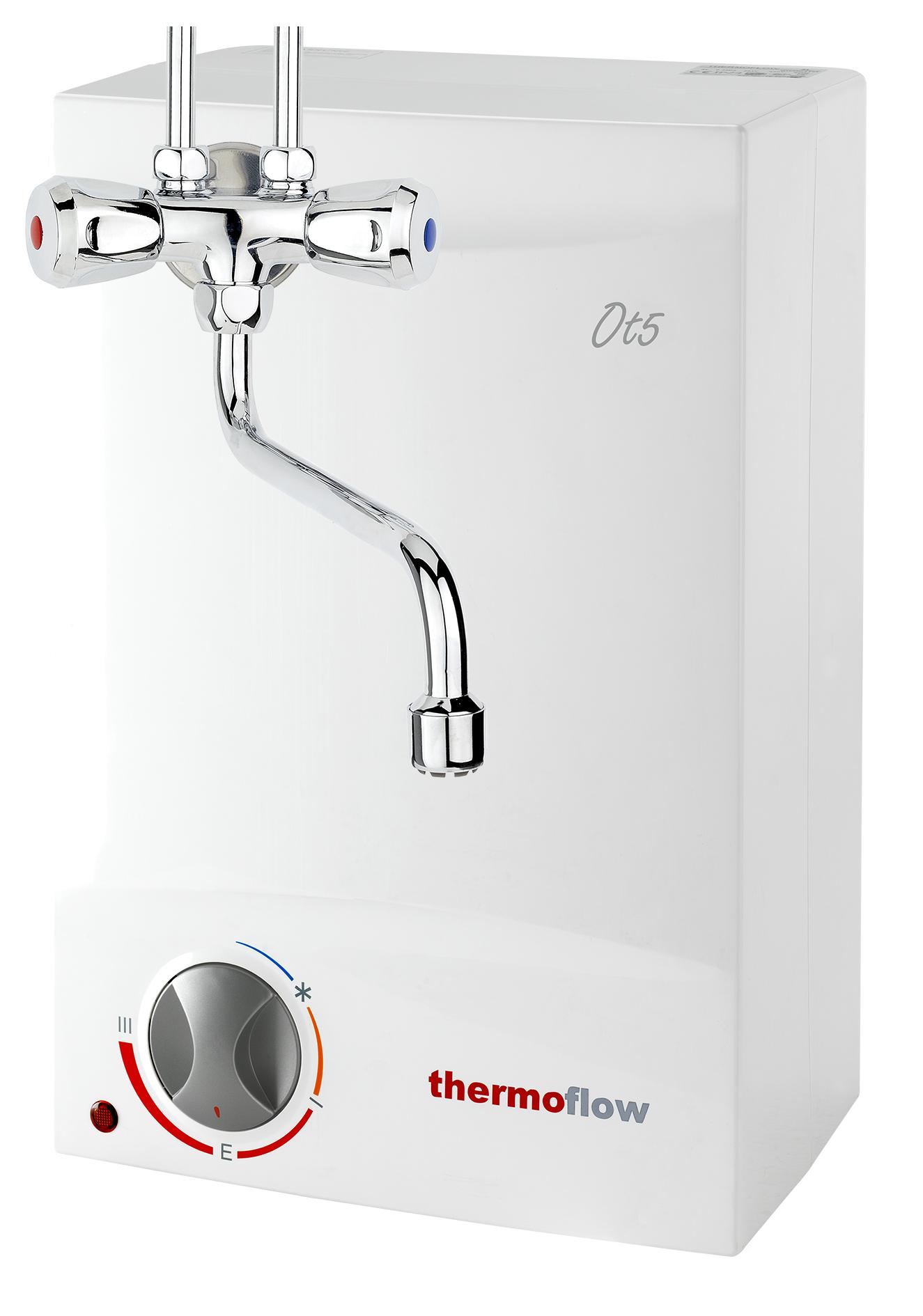 Details zu Obertischboiler Warmwasserspeicher 20 Liter Übertisch Boiler +  Armatur Thermoflow
