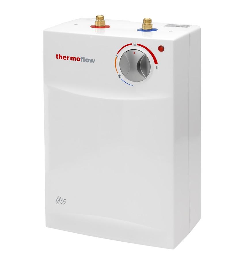 untertischger t 5 liter untertischboiler warmwasserspeicher ut 5 thermoflow ebay. Black Bedroom Furniture Sets. Home Design Ideas