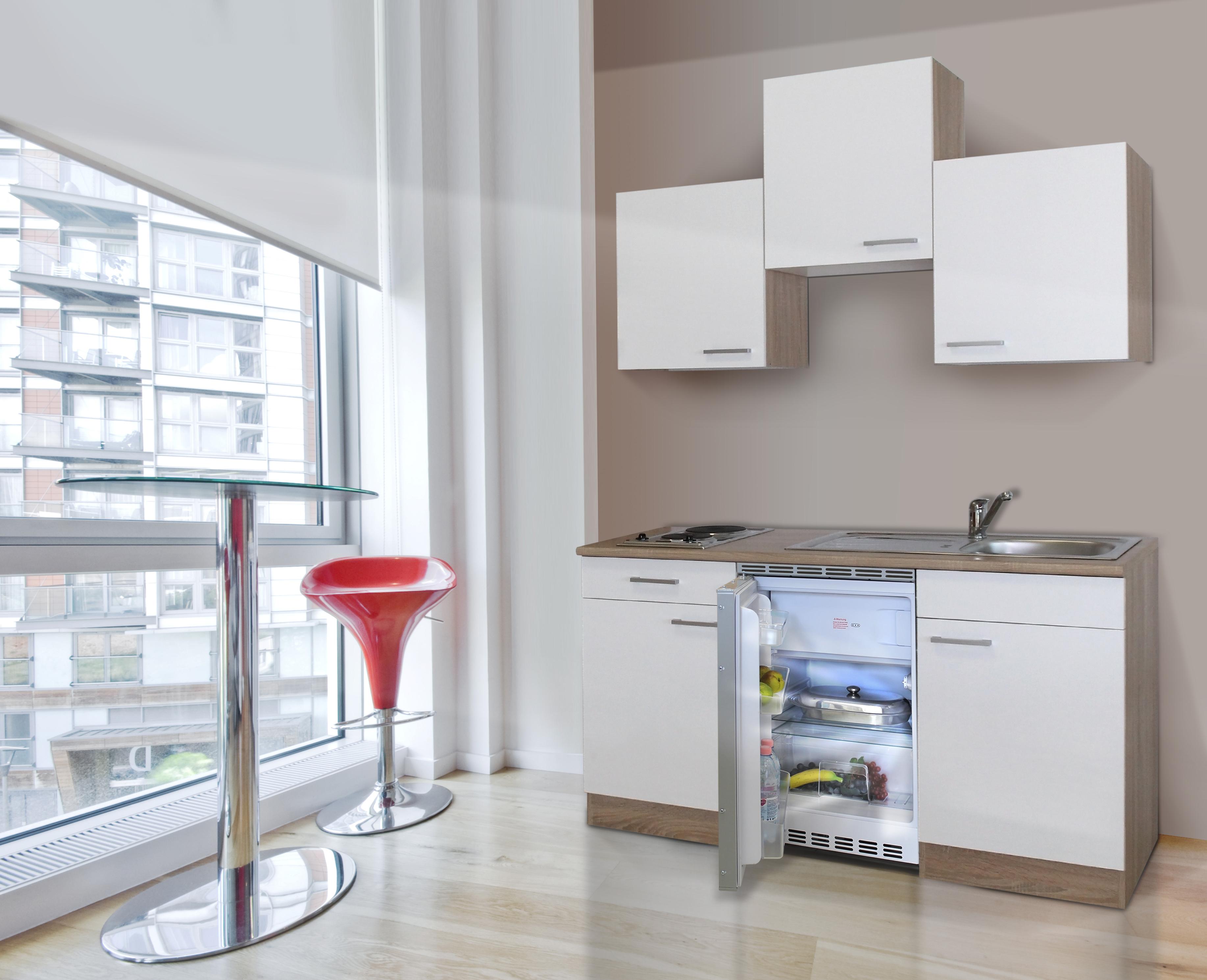 Respekta mini singola cucina angolo cucina blocco cucina for Cucina 150 cm