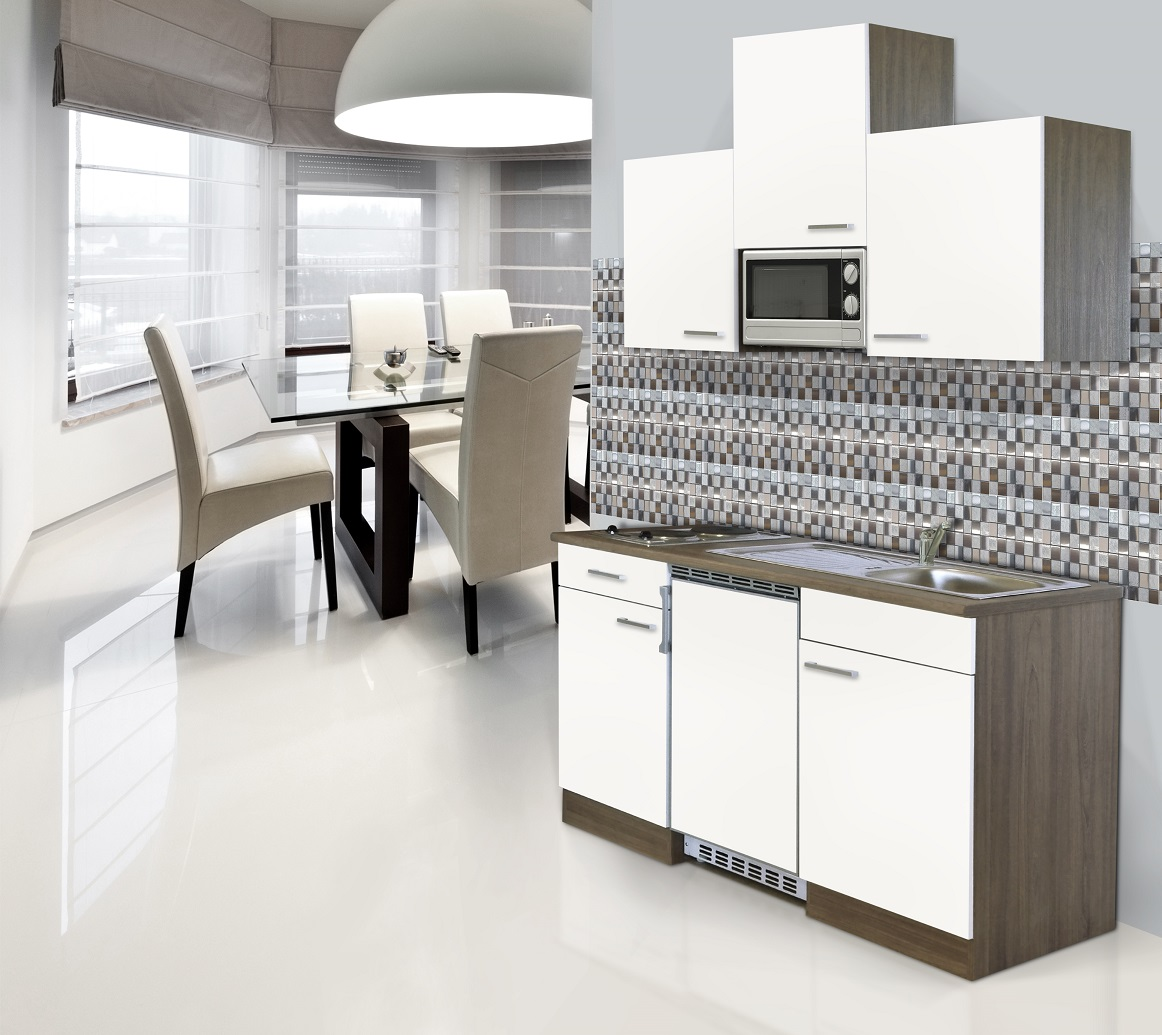 k che k chenzeile k chenblock single minik che 150 cm. Black Bedroom Furniture Sets. Home Design Ideas