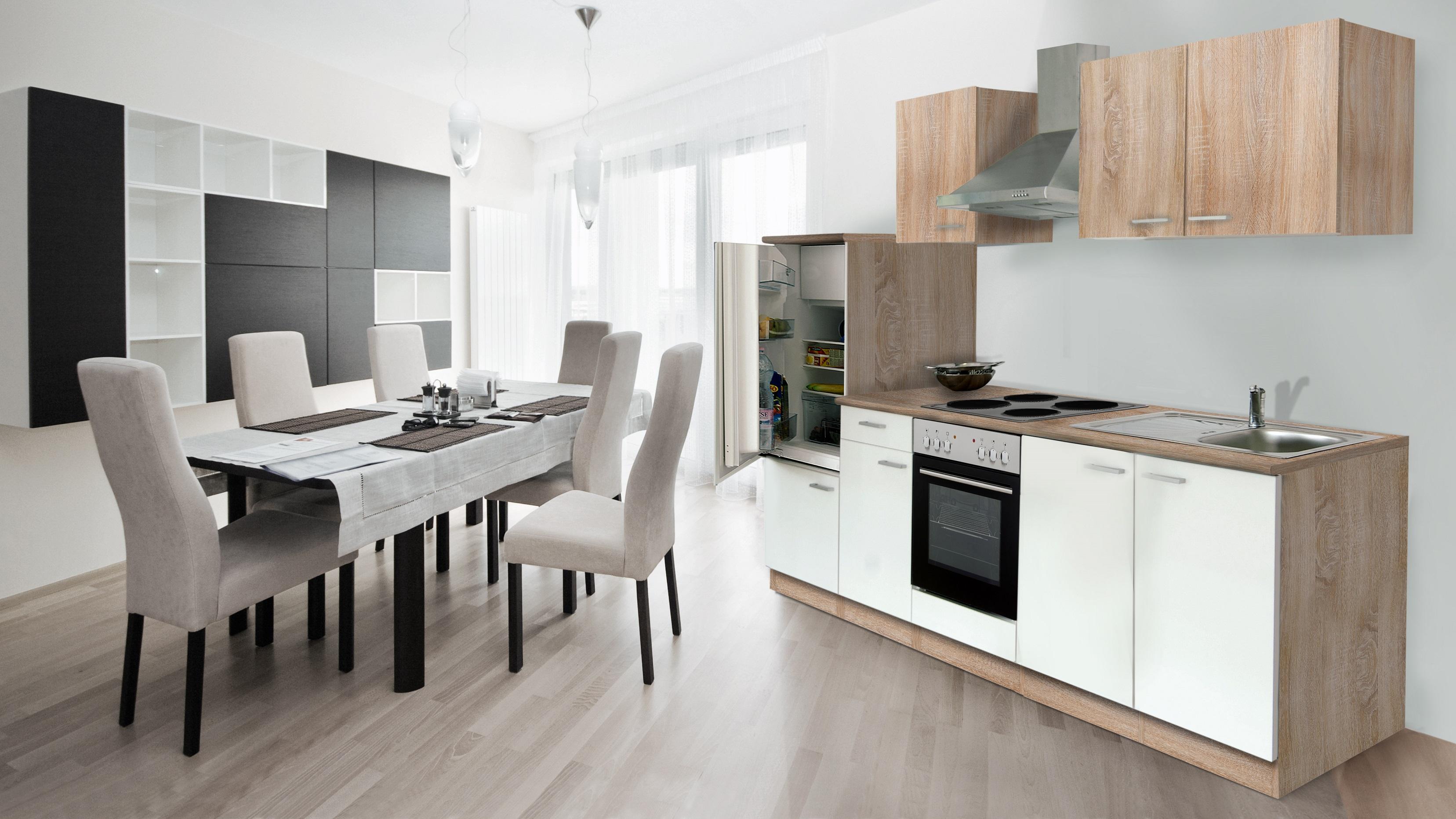 RESPEKTA incasso BLOCCO cucina cucina angolo cottura 270 cm | eBay