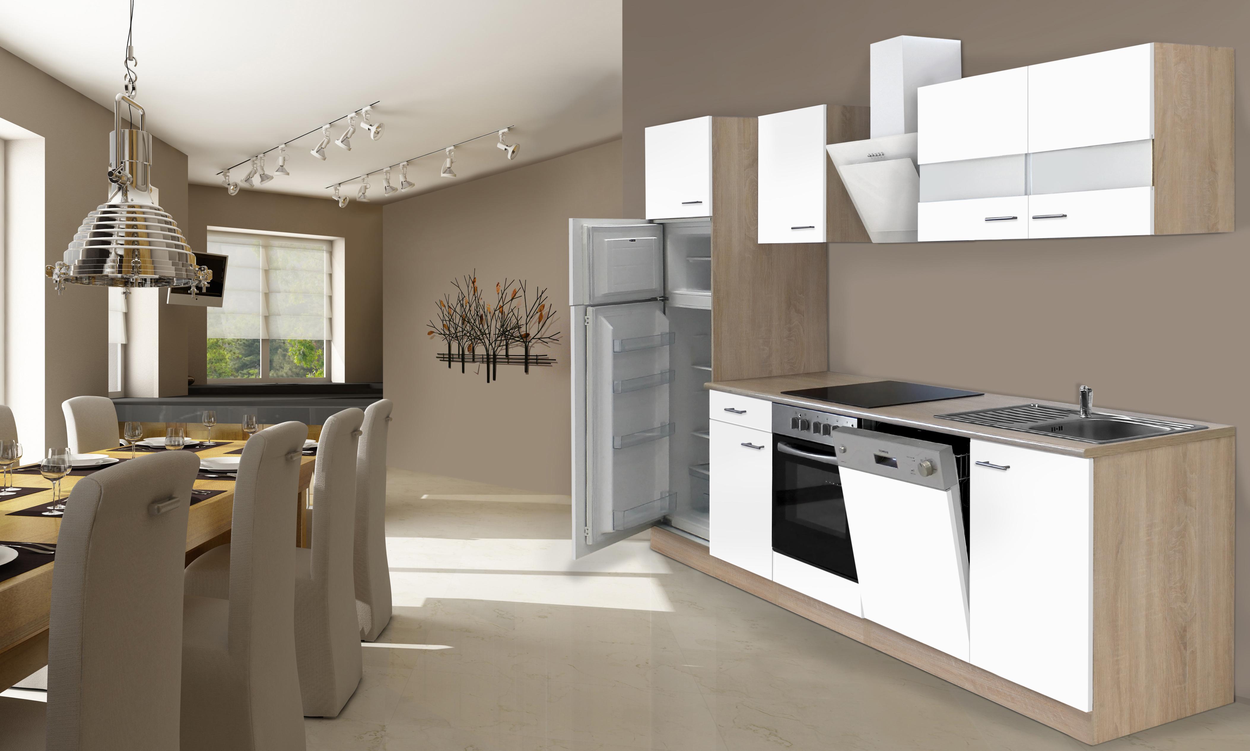 Respekta incasso cucina angolo cucina blocco cucina 280 cm - Blocco cucina 160 cm ...
