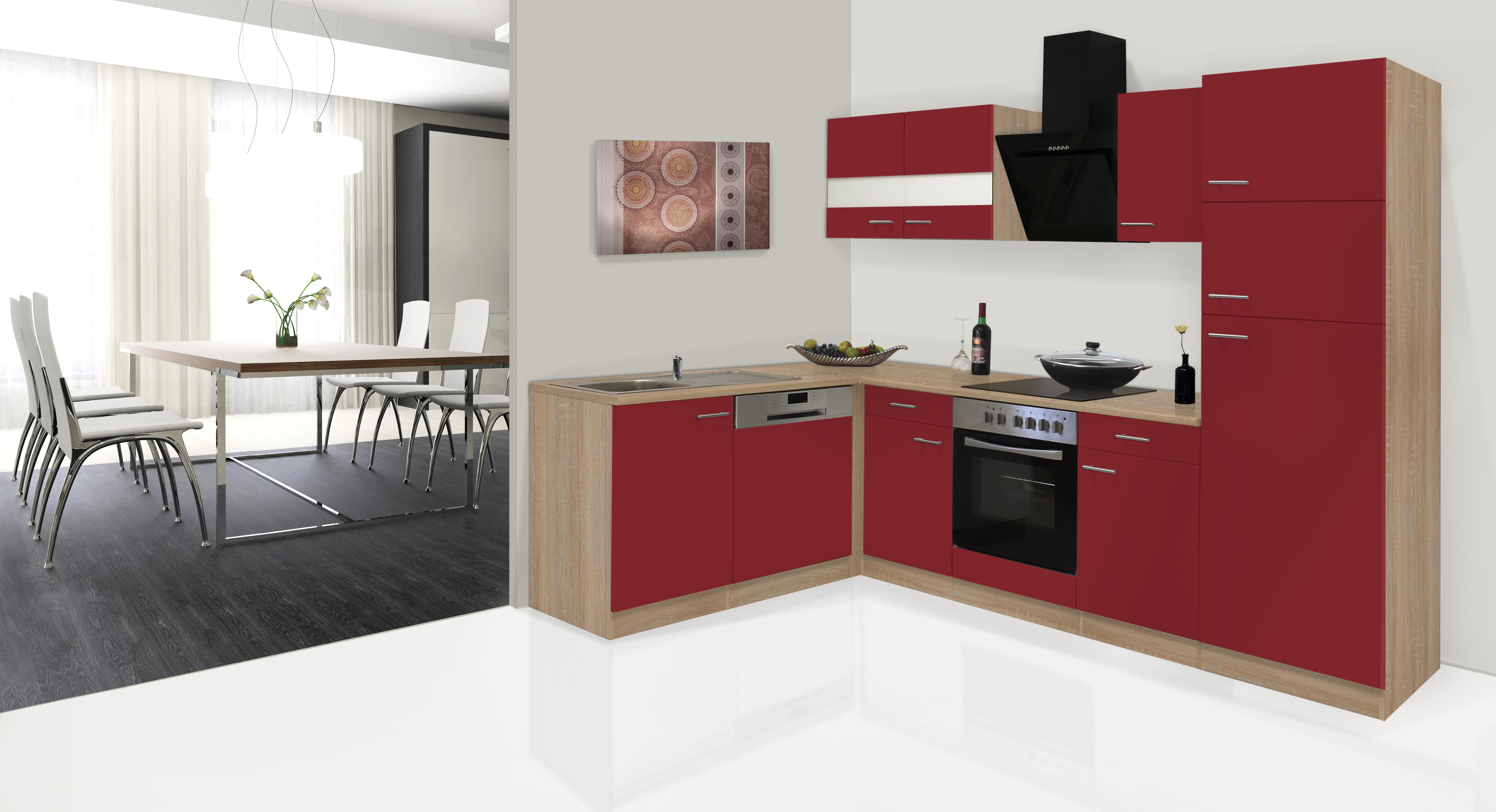 cucina angolo cottura winkelküche blocco vuoto l-forma RESPEKTA 280 ...