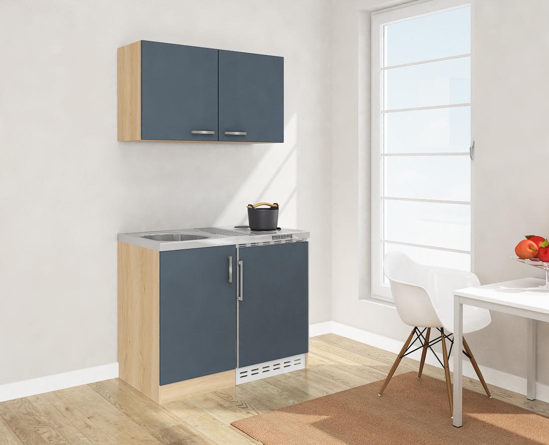 respekta miniküche mini küche singelküche küchenblock 100