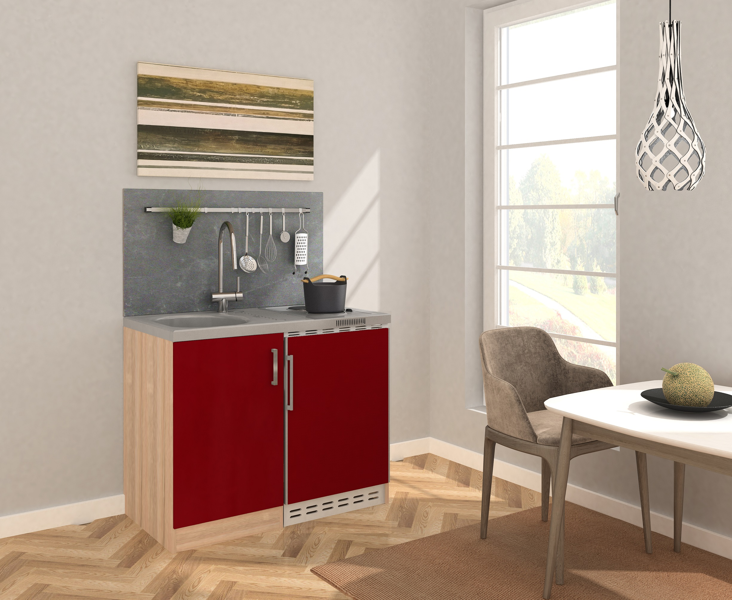 minik che k che k chenzeile pantry k chenblock 100 cm. Black Bedroom Furniture Sets. Home Design Ideas