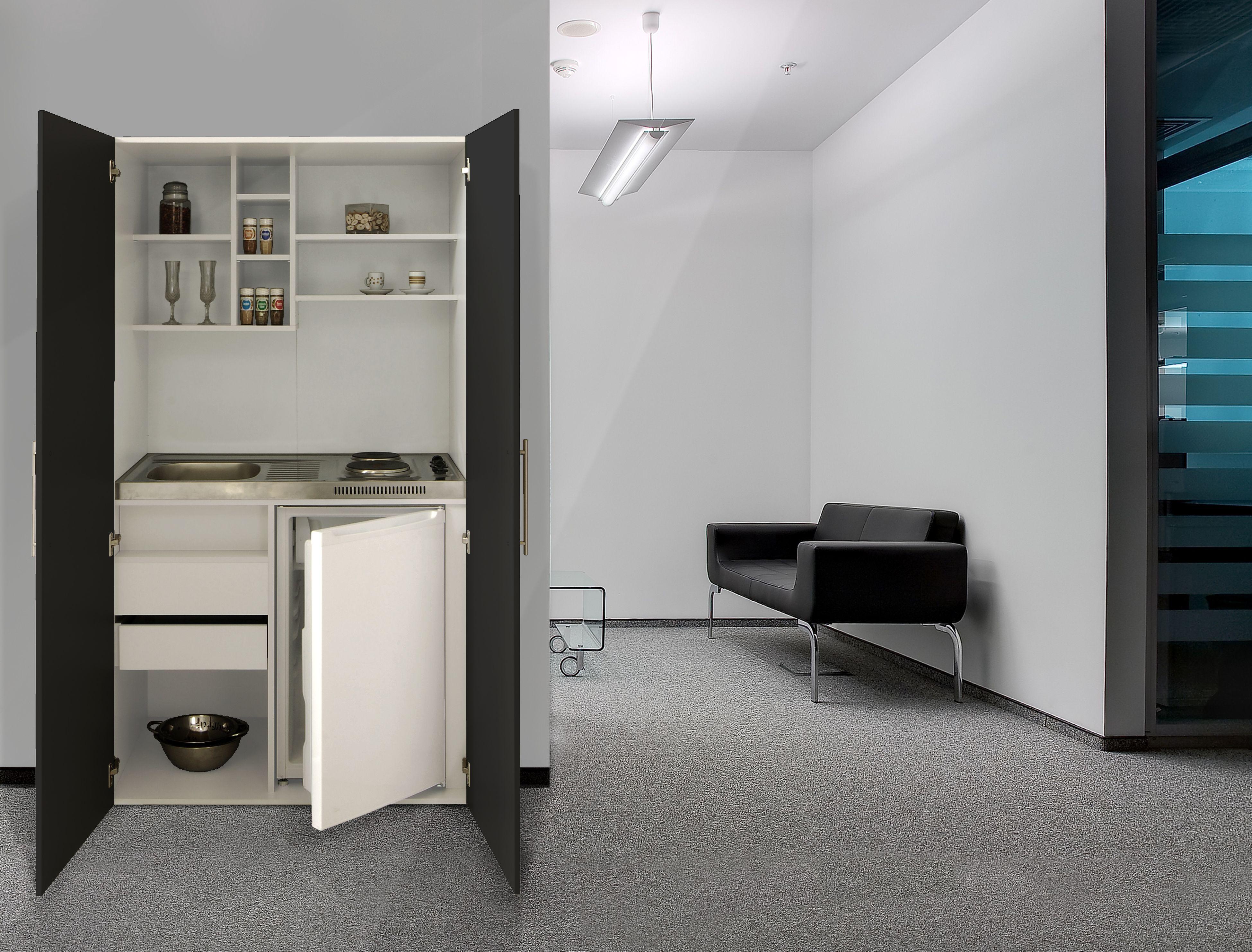 respekta single b rok che pantry k che minik che schrankk che weiss schwarz ebay. Black Bedroom Furniture Sets. Home Design Ideas