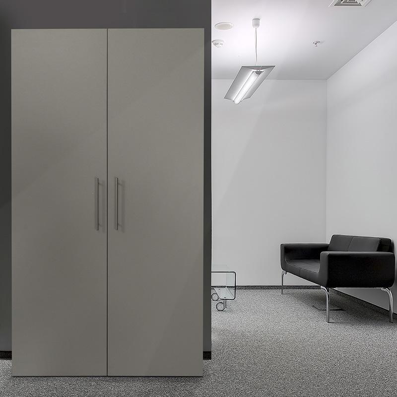 respekta single b ro pantry mini schrank k che minik che schrankk che silber ebay. Black Bedroom Furniture Sets. Home Design Ideas