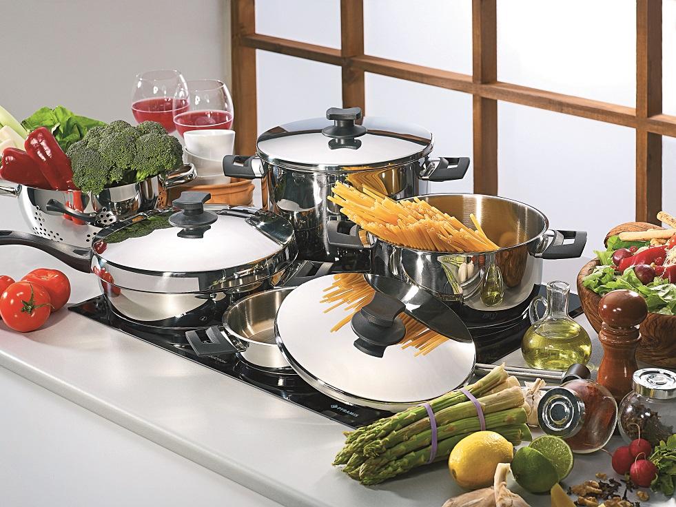 Pyramis classic set de casseroles ustensiles cuisine for Soldes ustensiles cuisine casseroles